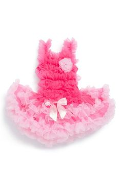 Guaranteed to be a hit at any shower: Pink tutu dress for girls.