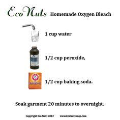 home made oxygen bleach