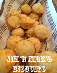 Copycat Jim 'n Nick's Biscuit Recipe