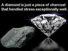 Diamonds cut Diamonds!