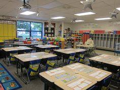 Classroom Set Up - 2nd Grade