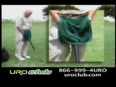 The Uroclub Commercial ~ Golf Club Urinal ~ NOT to be confused with your Golf Club Liquor Flask...* except in India* ;D