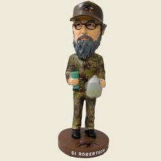 Si, Willie, Jase, Phil and Miss Kay Duck Dynasty Bobbleheads