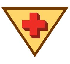 Girl Scout Brownie Bug Badge. If someone was sick or hurt, would you know how to help? In this badge, you'll find out what to do in an emergency, from calling 911 to using first aid to treat minor injuries. When the unexpected happens, you'll be prepared!