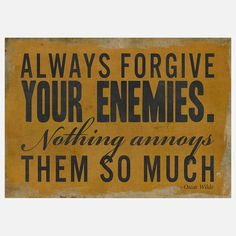 Always Forgive Your Enemies Ylw now featured on Fab.