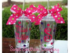 personalized tumblers polka dots, dot acryl, sweetsoutherncompani, parti ideal, acryl tumbler, acrylics, teacher gift, person polka, person tumbler