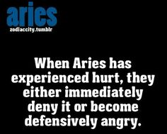 very true Aries quote