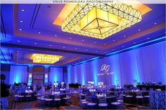Caesars Windsor-Casino Windsor, Decor by Elegance By Design, Special Effect Lighting by Marz Media, Photography by Steve Pomerleau Photography http://weddingshows.com
