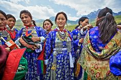 Kargil, Kashmir    Traditional Ladakhi Dancers by khagta