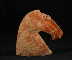 TANG DYNASTY Anonymous (618 - 909)  Horse Head.