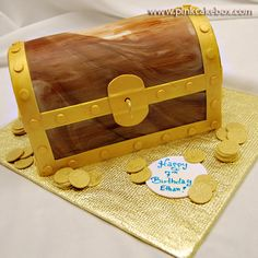 Pirates Treasure Chest Cake » Birthday Cakes