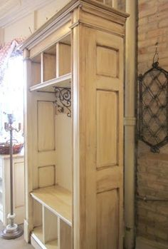 benches, garag, art, mud rooms, door, paint colors, hall trees, armoires, country