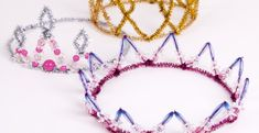 Pipe Cleaner Princess Crowns