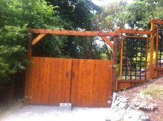 Possible gate design for back yard