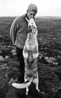 Love a man who loves his dog :)