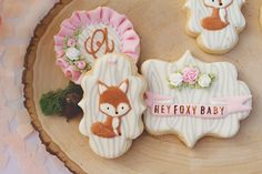 Fox Baby Shower Suga