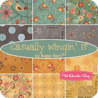 I love this line of fabric. the colors are great!   Gracefully Wingin' Buggy Barn for Henry Glass Fabrics