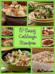 17 Easy Cabbage Recipes - Shake up the way you eat dinner with this collection of 17 Easy Cabbage Recipes for every occasion.