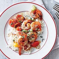 Creole Shrimp and Rice | CookingLight.com