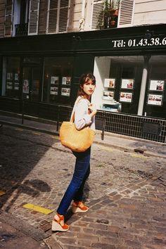 Jeanne Damas jeann dama, classic wedg, street style