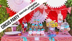 Circus Party- free diy and printables