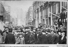 U.K. A  view of London's Petticoat Lane on a Sunday morning, c1900 perhaps.
