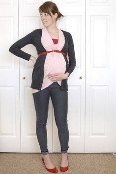 Get this awesome maternity look! For less than $40! Only at MotherhoodCloset.com #Maternity #Consignment