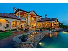 GORGEOUS multi-million dollar home in Leander, #Texas