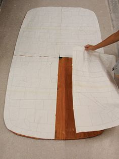 How to make a tile table top