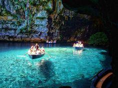 VISIT GREECE| Melissani #Cave, #Kefalonia, #Ionian islands
