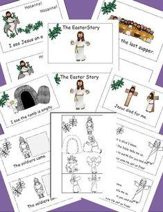 EMERGENT READER: THE EASTER STORY (FOR THE CHRISTIAN CLASSROOM) - TeachersPayTeachers.com