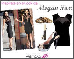 Os traemos un look inspirado en Megan Fox. ¿Os atrevéis a llevarlo?     #moda #celebrities #fashion #inspiration