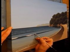 Painting a Seascape in 30 minutes.