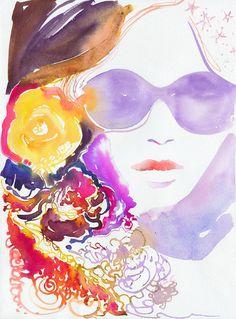 Lilac Sun by Silver Ridge Studio on Etsy.