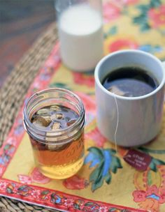 Love chai?  You can make it at home in minutes with this easy ginger-spice syrup!