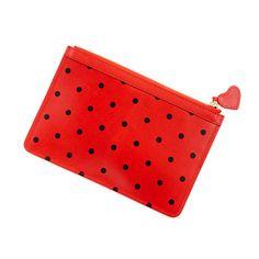 Receipt pouch in dot
