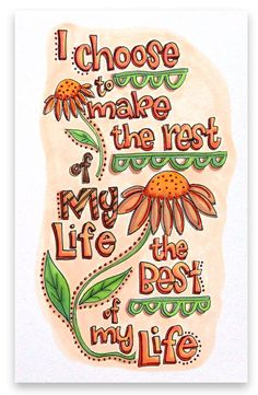 """""""Make the Rest the Best"""" by Suzy Plantamura"""