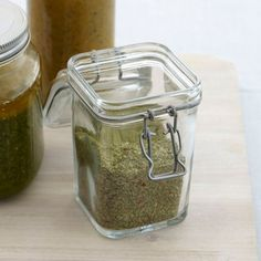 A great gift, this spicy herb salt is delicious rubbed over big cuts of meat like leg of lamb or thick steaks, but it's also terrific sprinkled on buttered bread or corn on the cob.