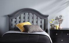 Great way to update a dated bedroom set. Krylon Spray Paint Projects | Krylon