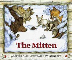 """""""The Mitten"""" by Jan Brett"""