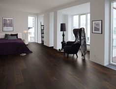 Junckers Black Oak (Smoked)   Silverwood Flooring   Toronto