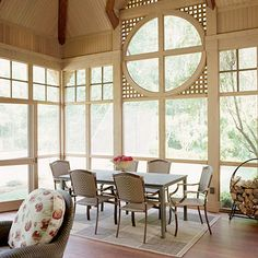 inside the perfect porch!