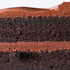 chocolate sour cream cake