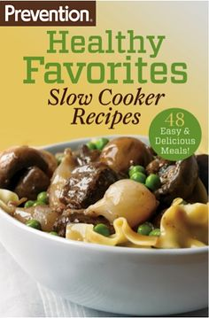 Bargain e-Cookbook: Prevention's 48 Slow Cooker Recipes! {$1.99} #crockpot #recipes