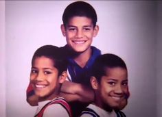 Jimmy Jey and their cousin Joe Anoa'i (aka Roman Reigns) can you tell who is who