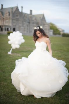 If you're new to #StyleMePretty - then you probably missed this gorgeous bride's wedding featured in the 2013 Fashion & Beauty Magazine: Click here for the Magazine & the Stunning Wedding: http://viewer.zmags.com/publication/60935926#/60935926/1 Photography: Justin & Mary Marantz