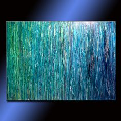 OVERSIZE ORIGINAL abstract Painting by newwaveartgallery on Etsy, $810.00