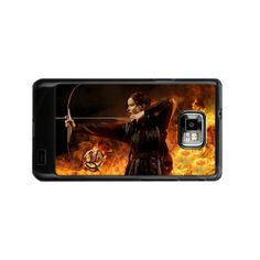 Jennifer Lawrence The Hunger Games Samsung galaxy s2 i9100 Case $16.50