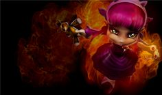 """Annie: League of Legends  """"Have you seen my bear Tibbers?"""""""