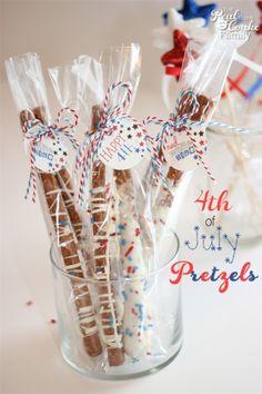 chocolate covered pretzels, juli pretzel, firework, delici pretzel, snack